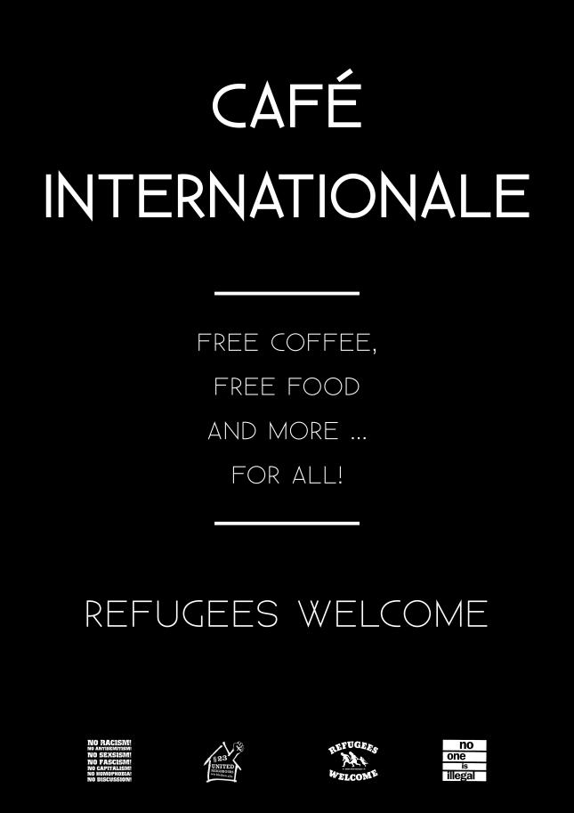 cafe internationale 1st poster