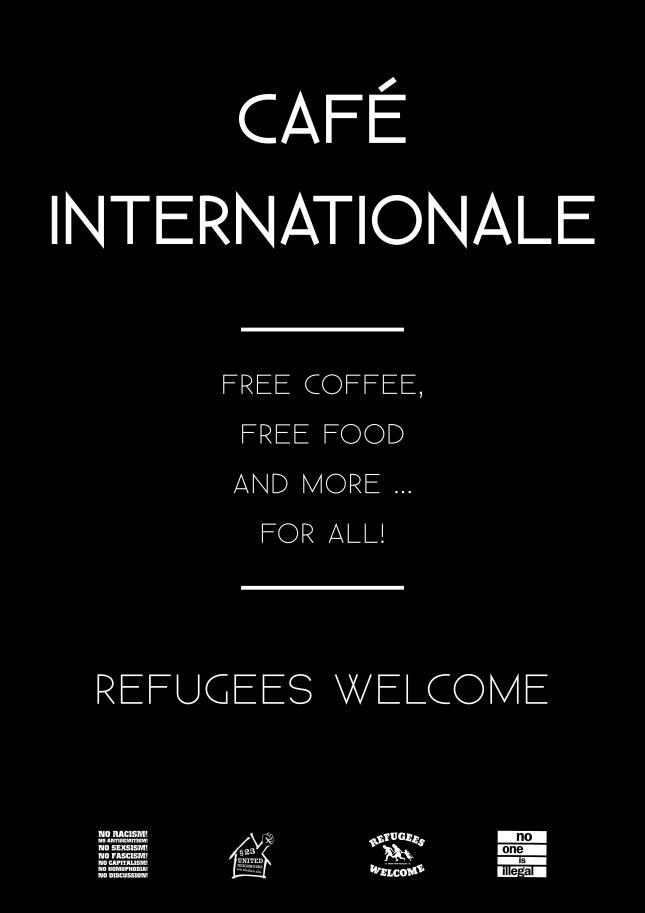 cafe internationale 1st poster